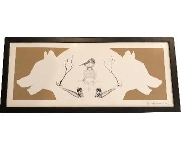 Framed Occult Art Print by Artist