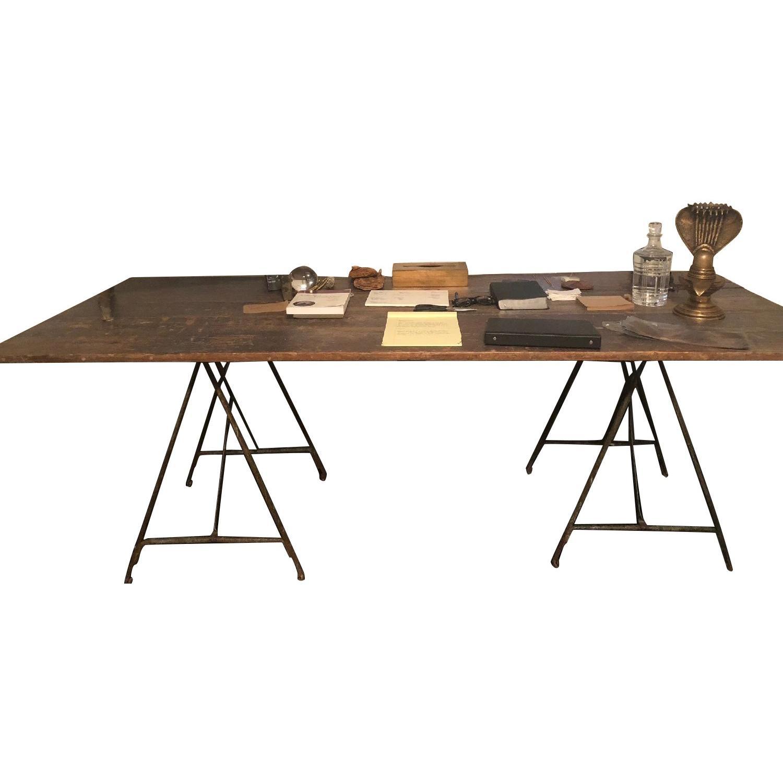 ABC Carpet & Home Multi-Use Sawhorse Table