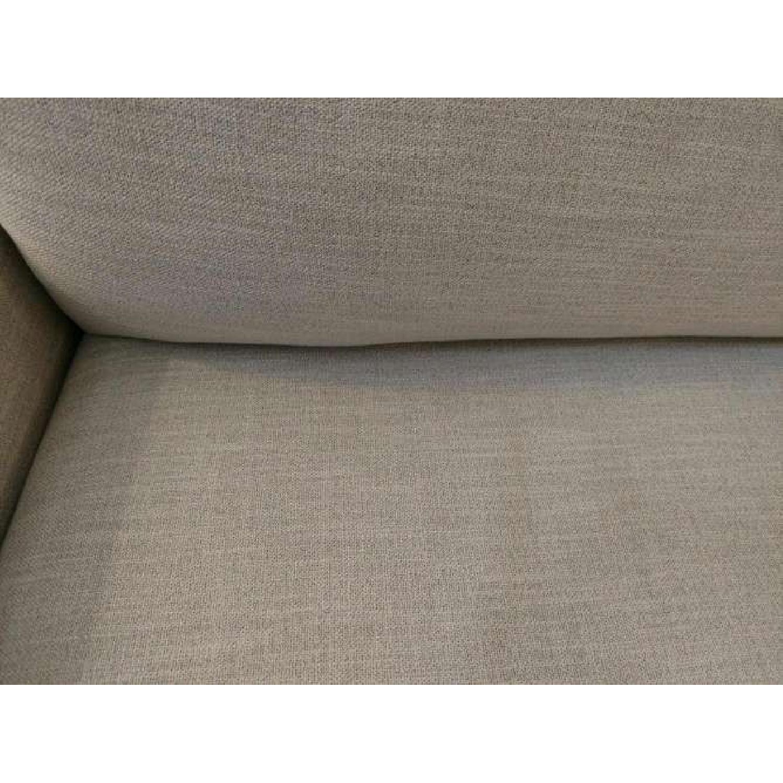 Bassett Custom Serafina Sofa in Oatmeal Color-6