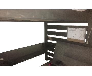 Bunk & Loft Factory Queen Size Loft w/ Desk