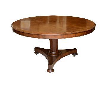 English Mahogany Dining Table