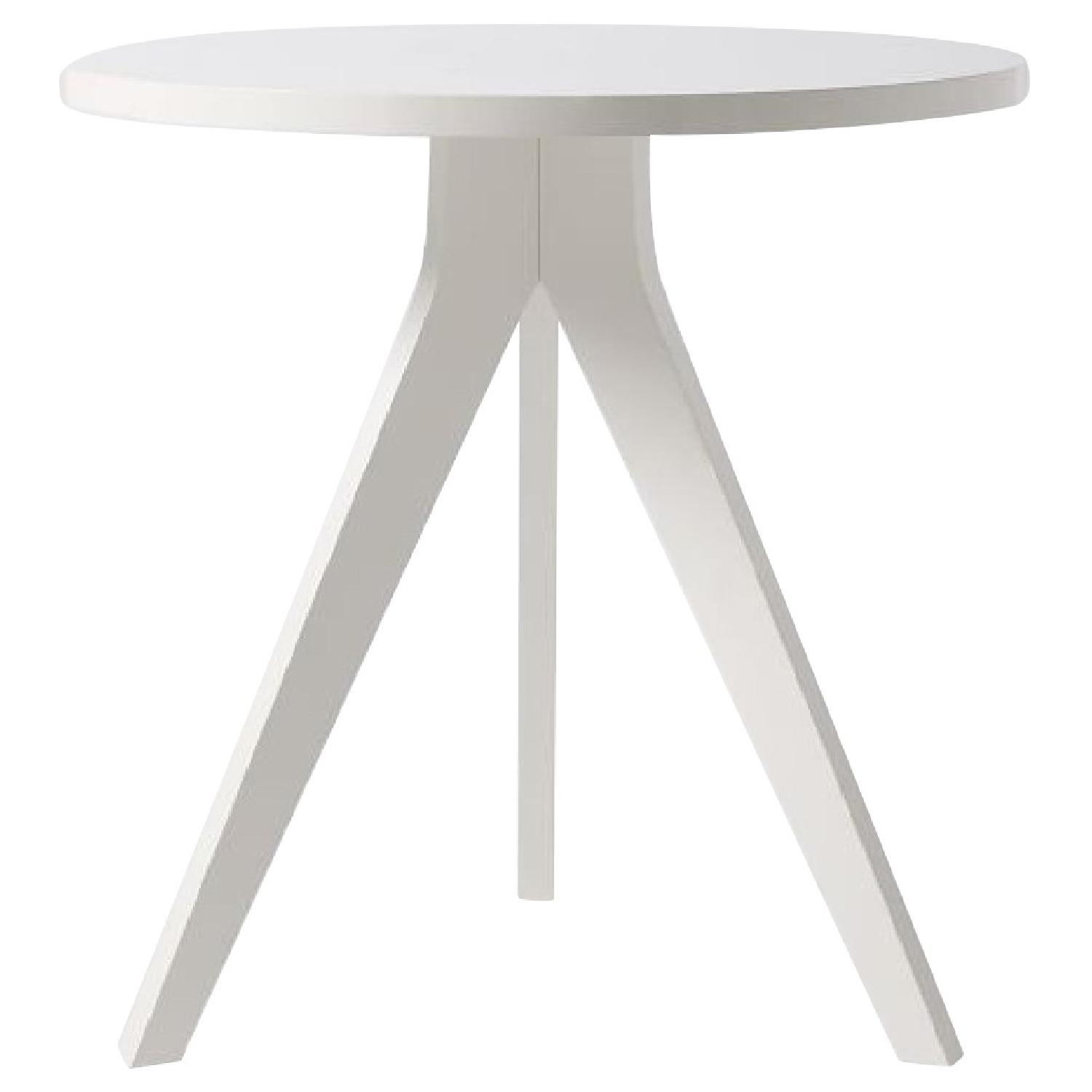 West Elm White Tripod Dining Table