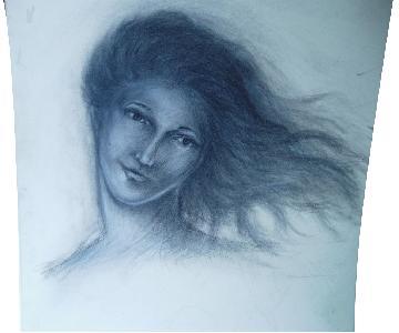 Drawing of Drunk Freak at Veselkas 4 am
