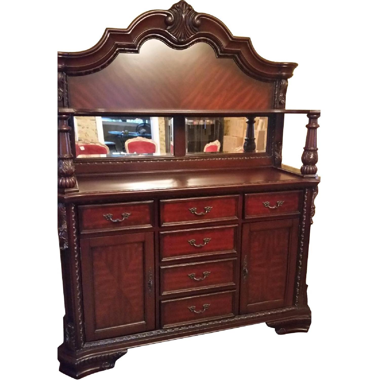 Coaster Fine Furniture Victorian Reproduction Breakfront