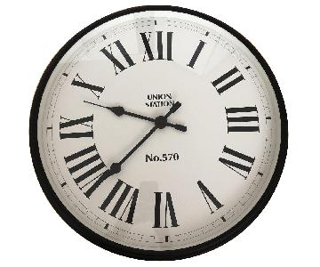Pottery Barn Union Square Wall Clock