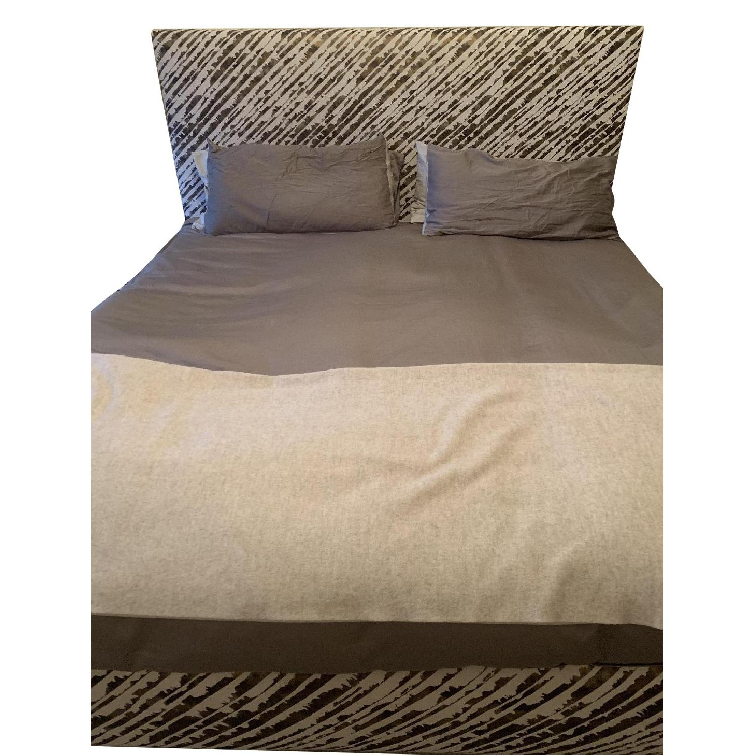 ABC Carpet and Home Donghia Fabric Upholstered Bed