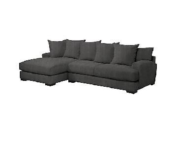 Z Gallerie Stella 2-Piece Sectional Sofa