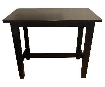Crate & Barrel Bar Height Table