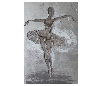 Ballerina Metal Wall Art