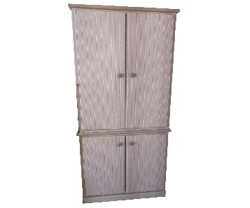Custom Wood Armoire