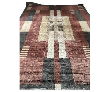 Art Deco Wool Area Rug