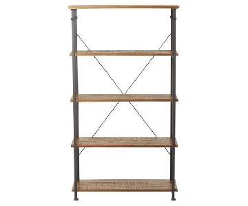Mercury Row Tall Rustic Shelves