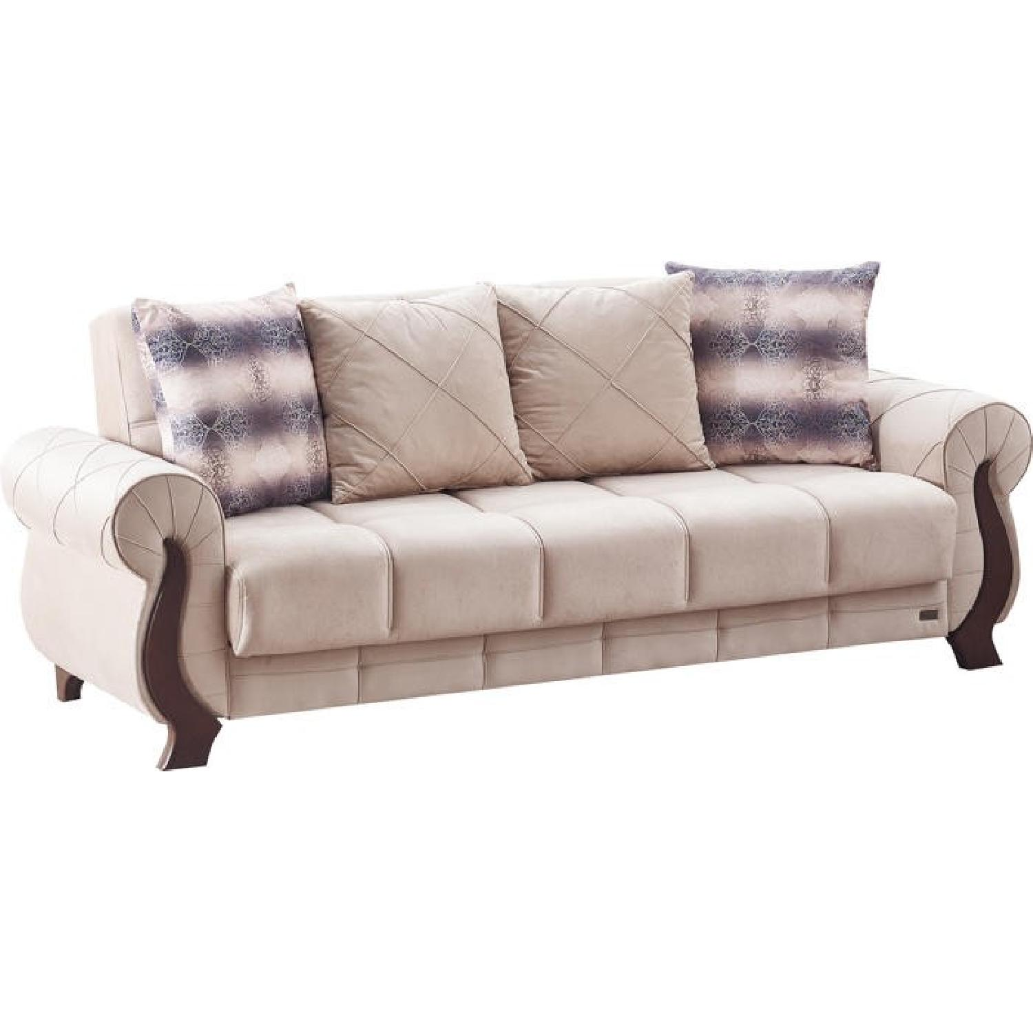 Ontario Beige Sofa Bed