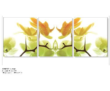 Art Addiction Print on Canvas - Orchids
