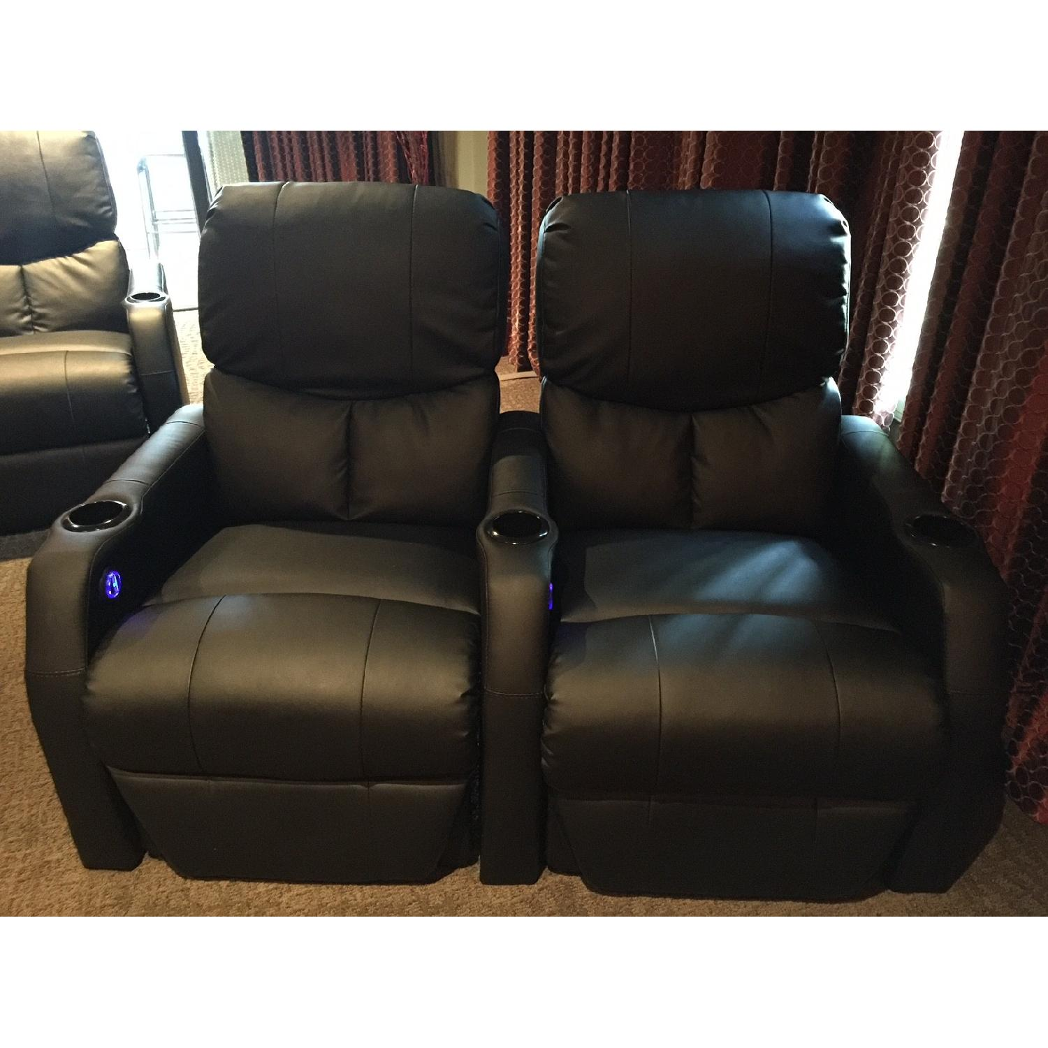 SeatCraft Home Theater Recliners - image-1