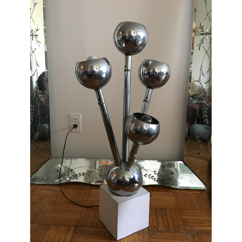 Mid-Century Modern Vintage Floor/Table Lamp - image-1