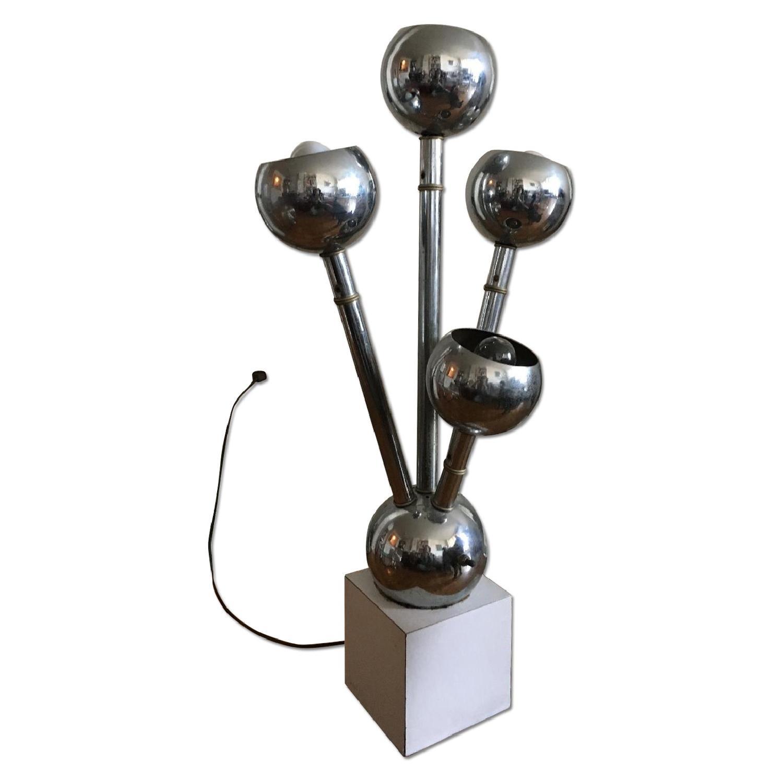 Mid-Century Modern Vintage Floor/Table Lamp - image-0