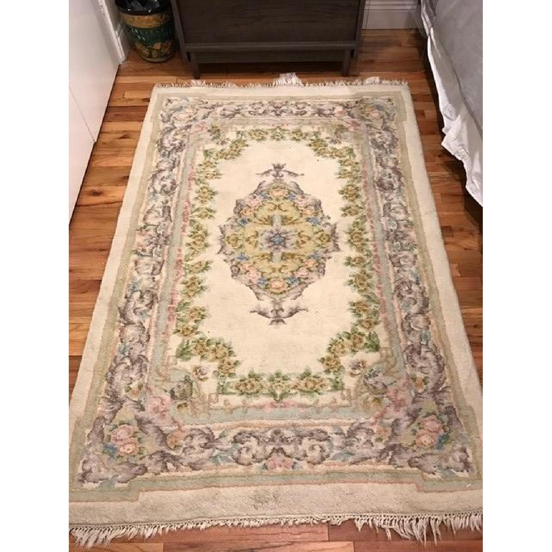 Vintage Floral Persian Rug - image-1