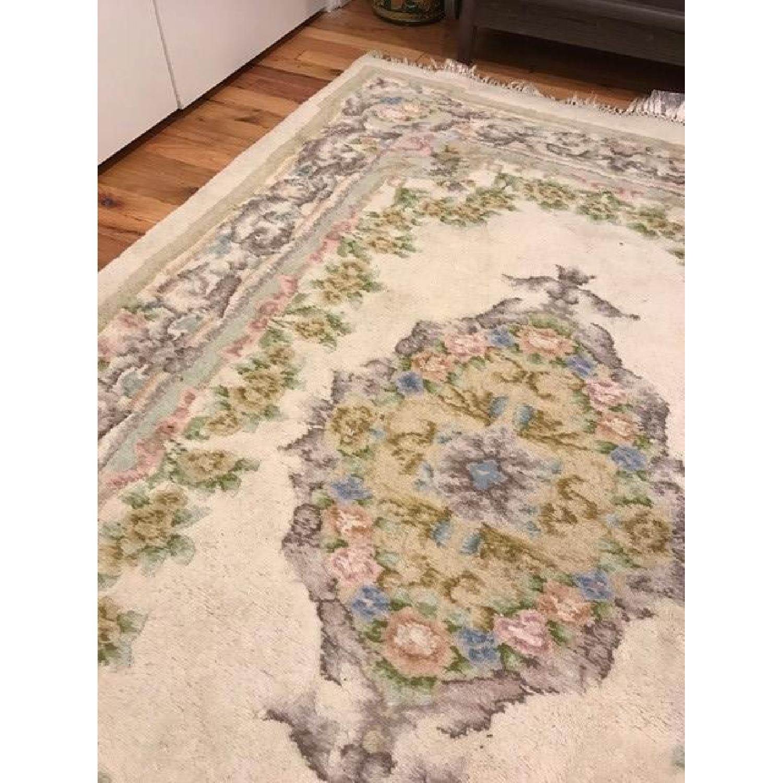 Vintage Floral Persian Rug - image-3