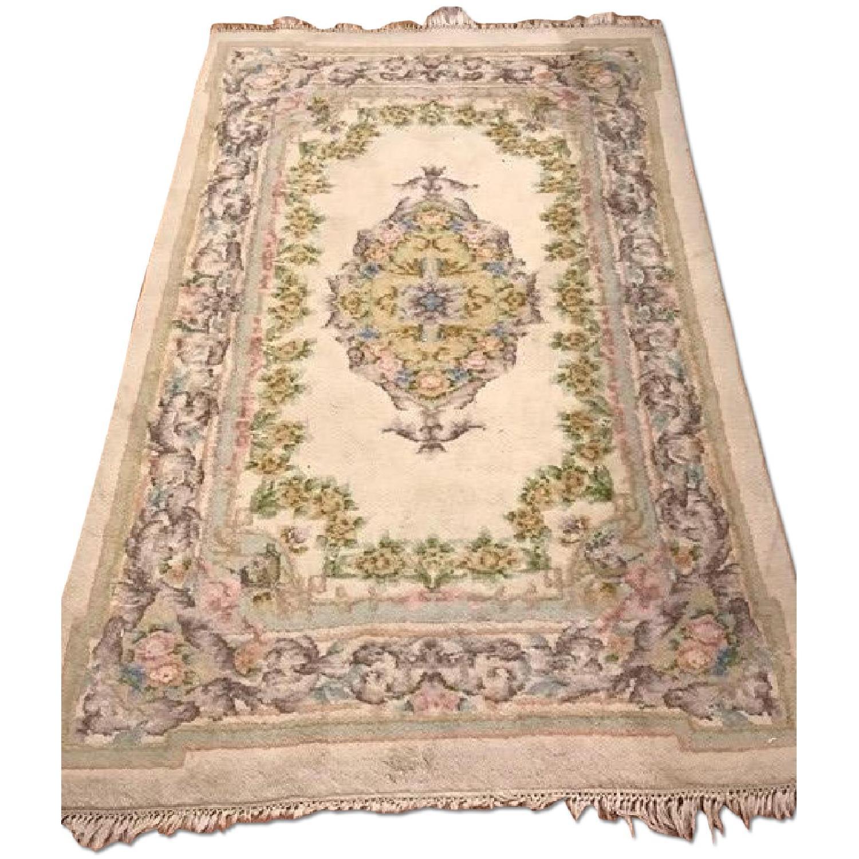 Vintage Floral Persian Rug - image-0