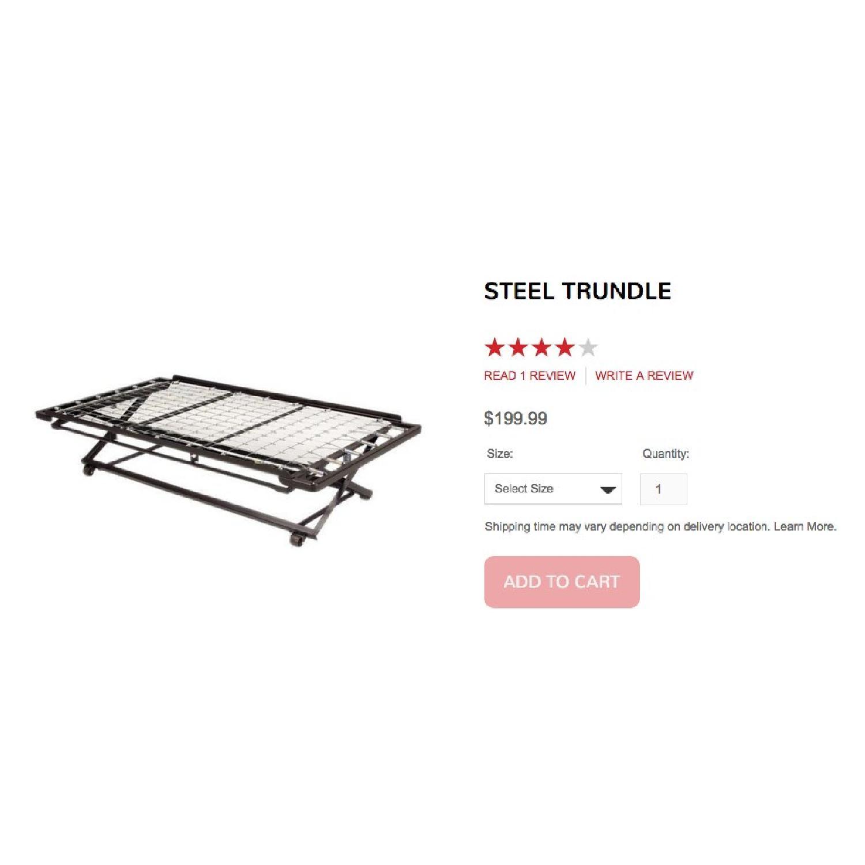 Sleepy's Twin Size Steel Trundle - image-2
