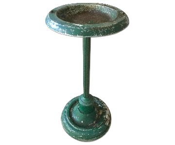 Vintage Industrial Pedestal Ashtray/Plant Stand
