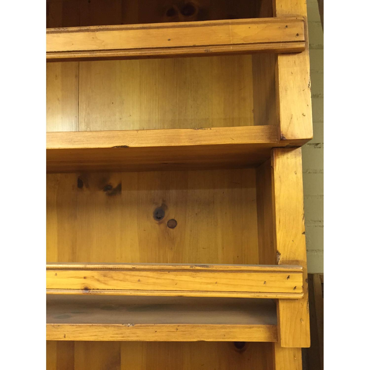 Antique Pine Welsh Kitchen Dresser & Display Hutch - image-5