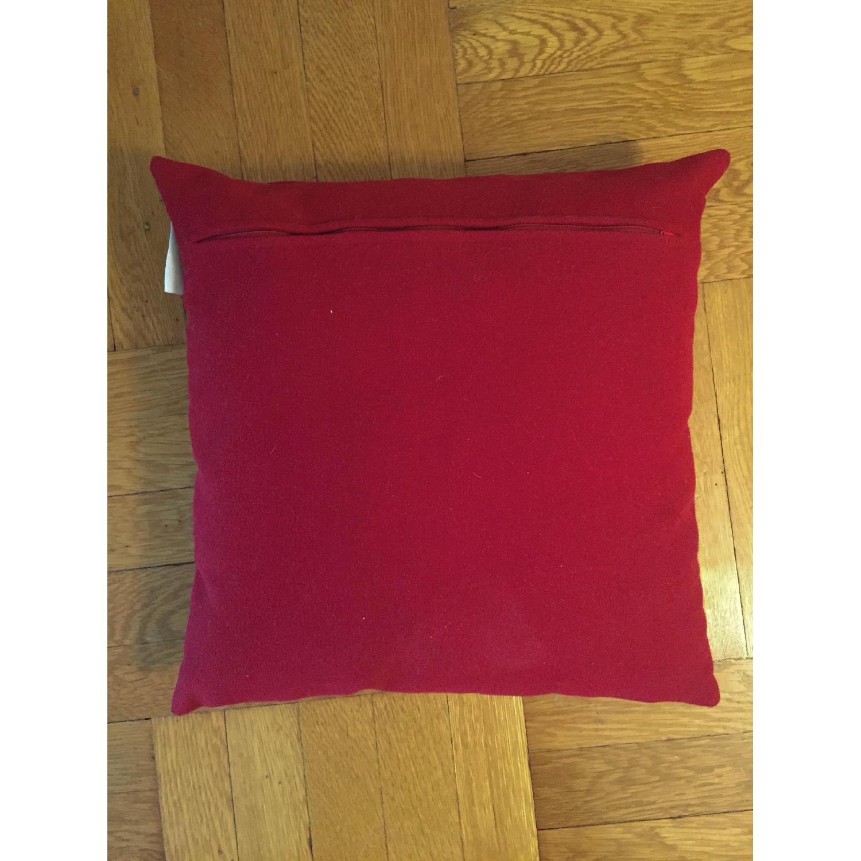 Madura Red Throw Pillows - image-1