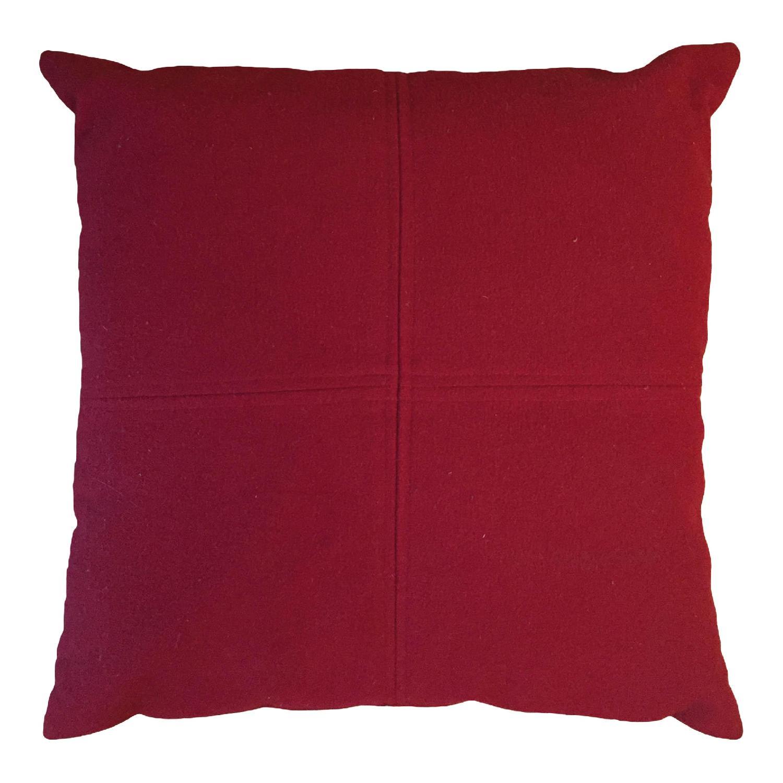 Madura Red Throw Pillows - image-0