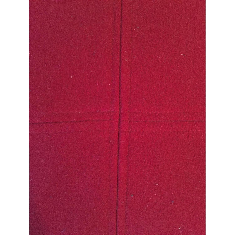 Madura Red Throw Pillows - image-2