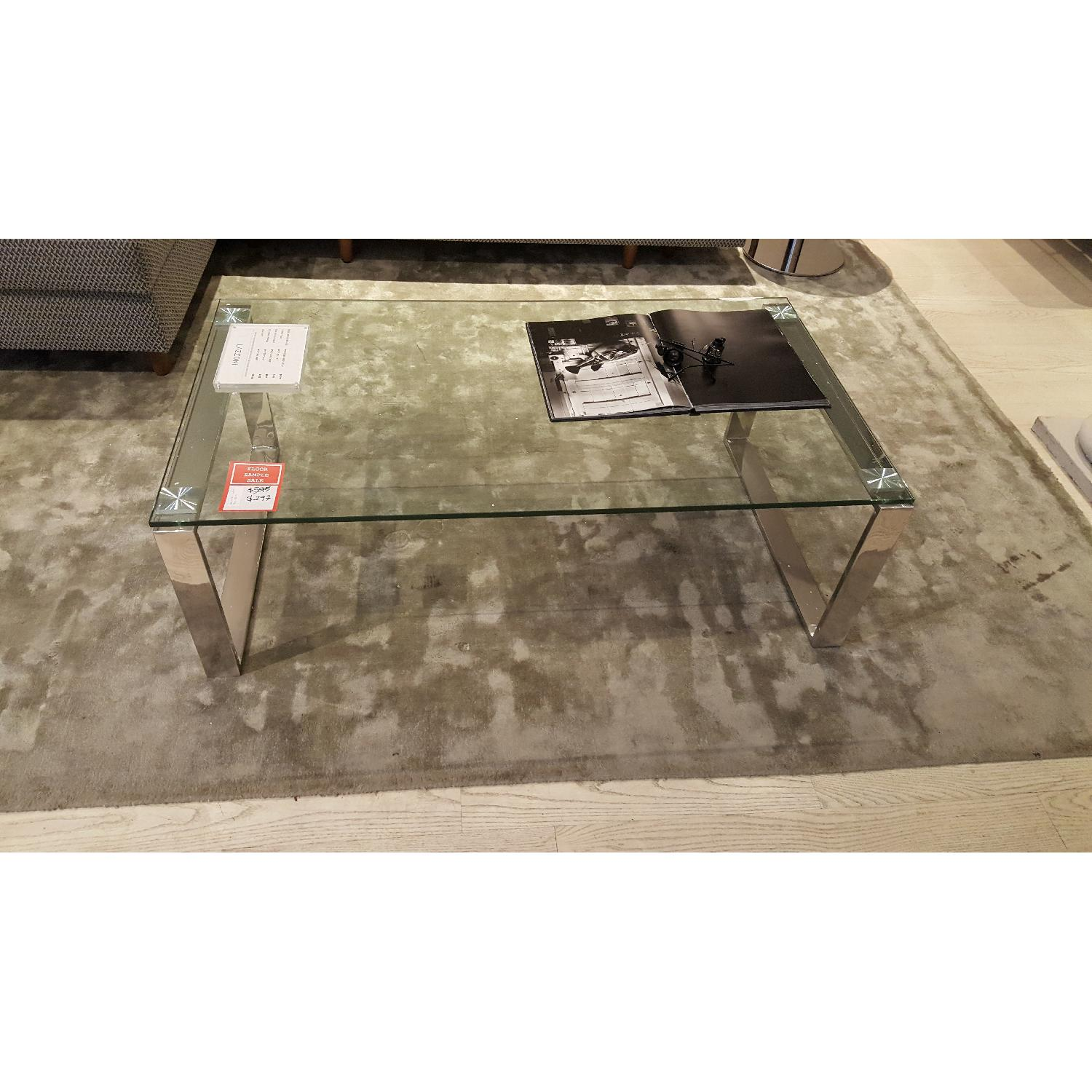 Lazzoni Glass Coffee Table - image-3