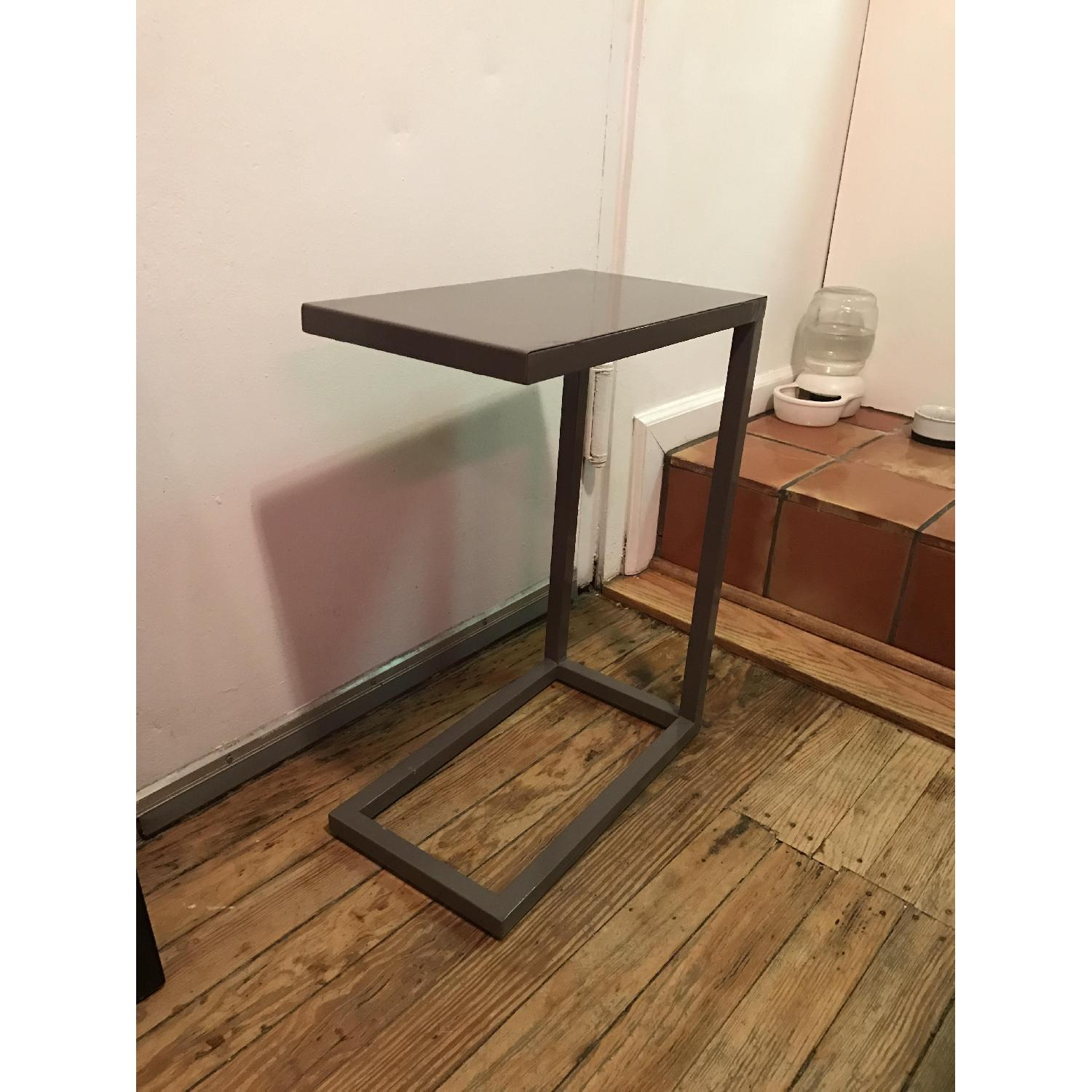 Crate & Barrel C Side Table - image-1