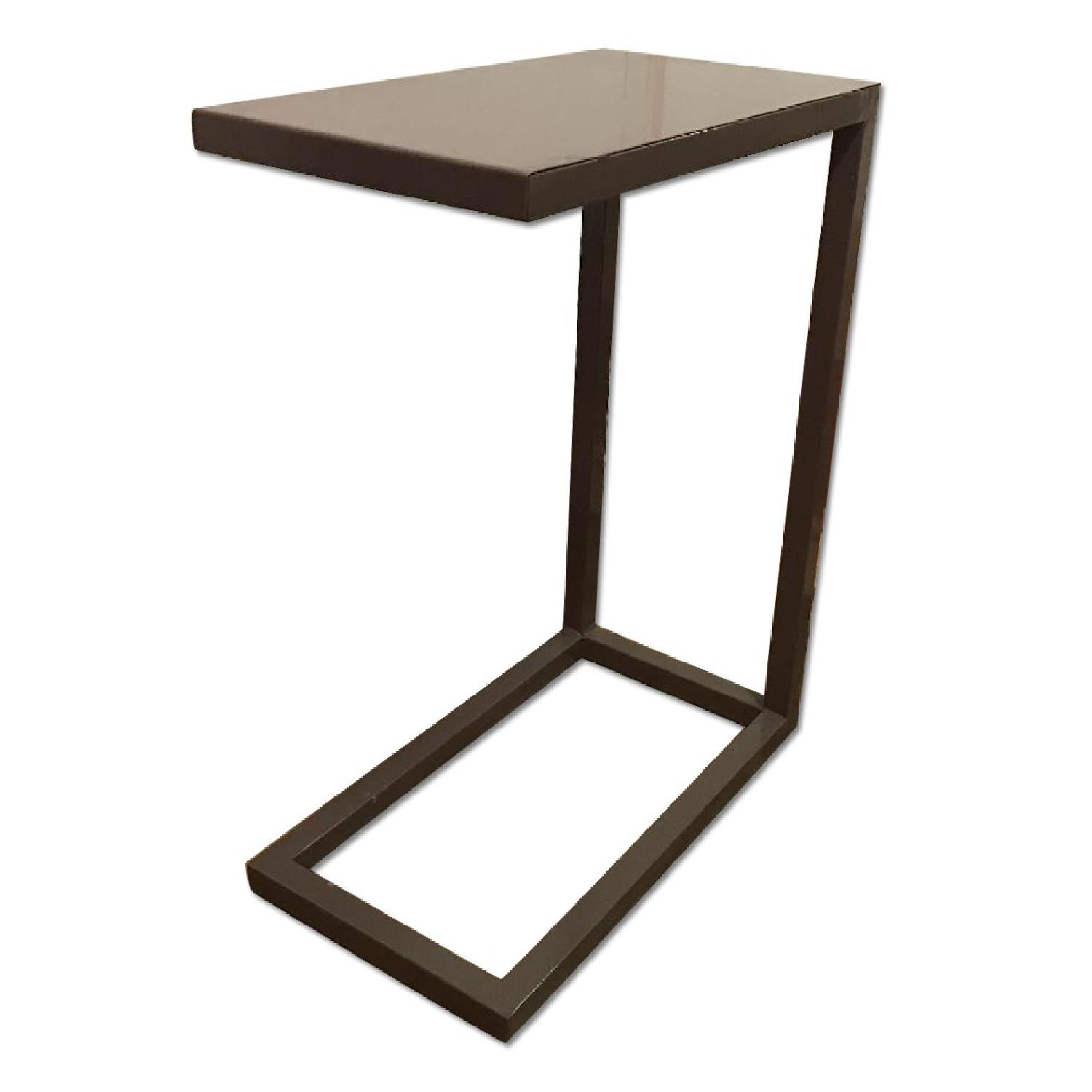 Crate & Barrel C Side Table - image-0