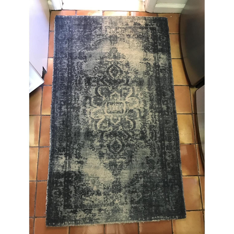 West Elm Distressed Wool Rug - image-1