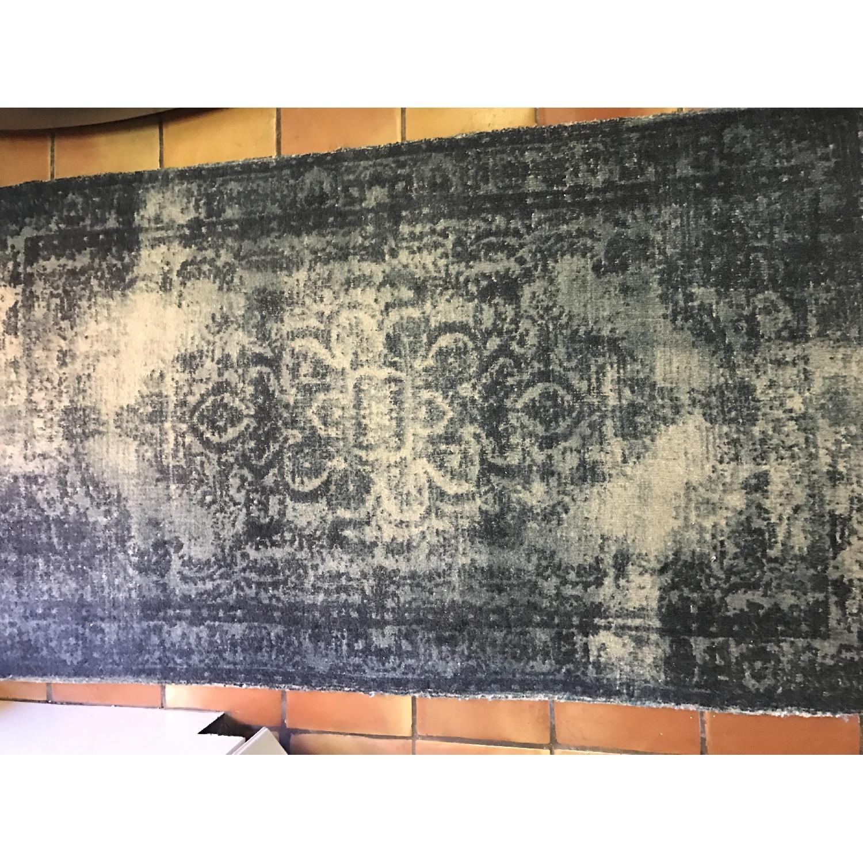 West Elm Distressed Wool Rug - image-2