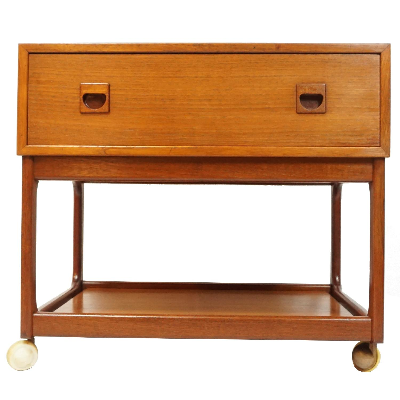 Vintage Danish Side Table - image-0