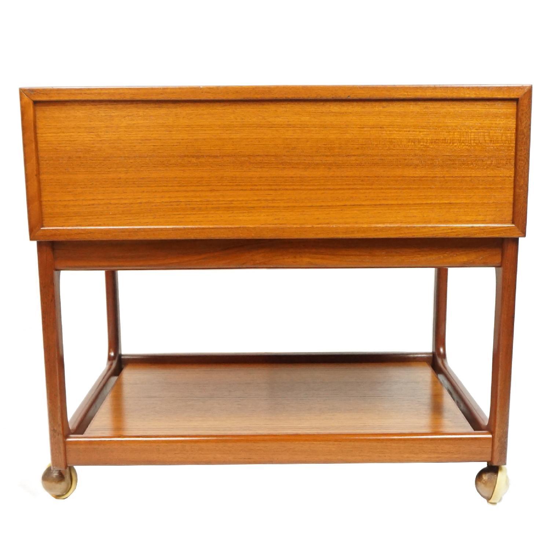 Vintage Danish Side Table - image-1