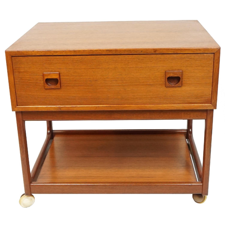 Vintage Danish Side Table - image-2