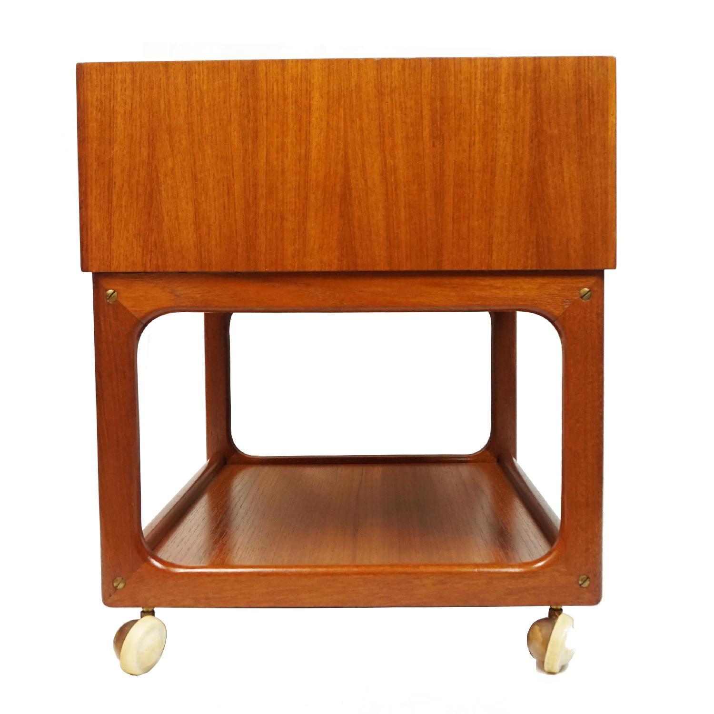 Vintage Danish Side Table - image-3