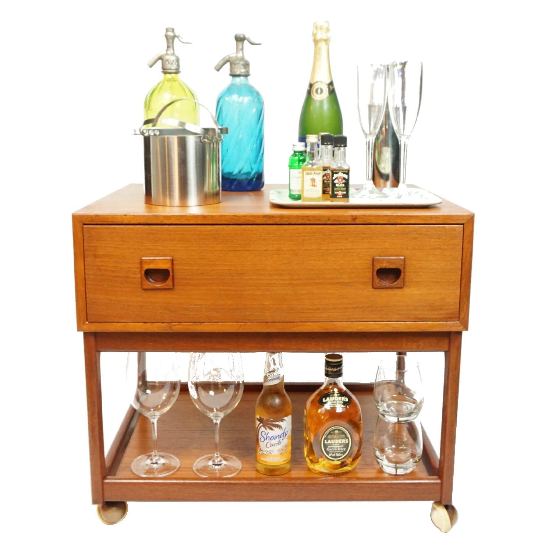 Vintage Danish Side Table - image-4