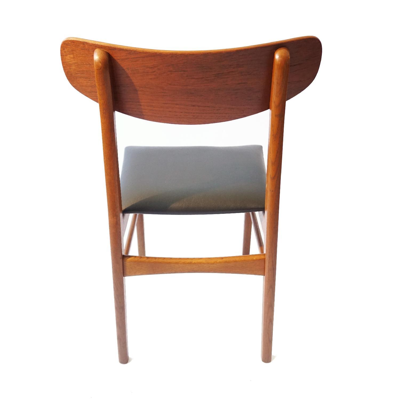 Danish Teak U Back Chair - image-2