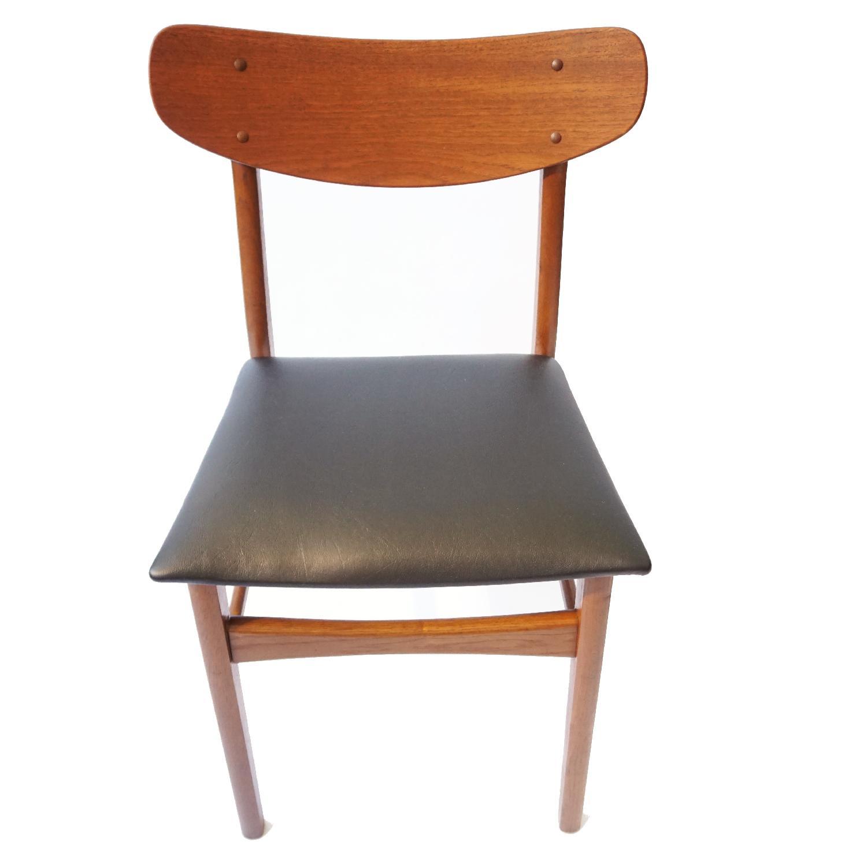 Danish Teak U Back Chair - image-3
