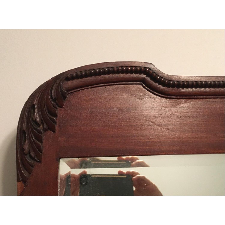 Antique Victorian Mahogany Dresser w/ Mirror - image-3