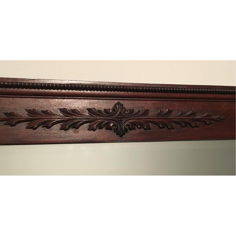 Antique Victorian Mahogany Dresser w/ Mirror - image-4