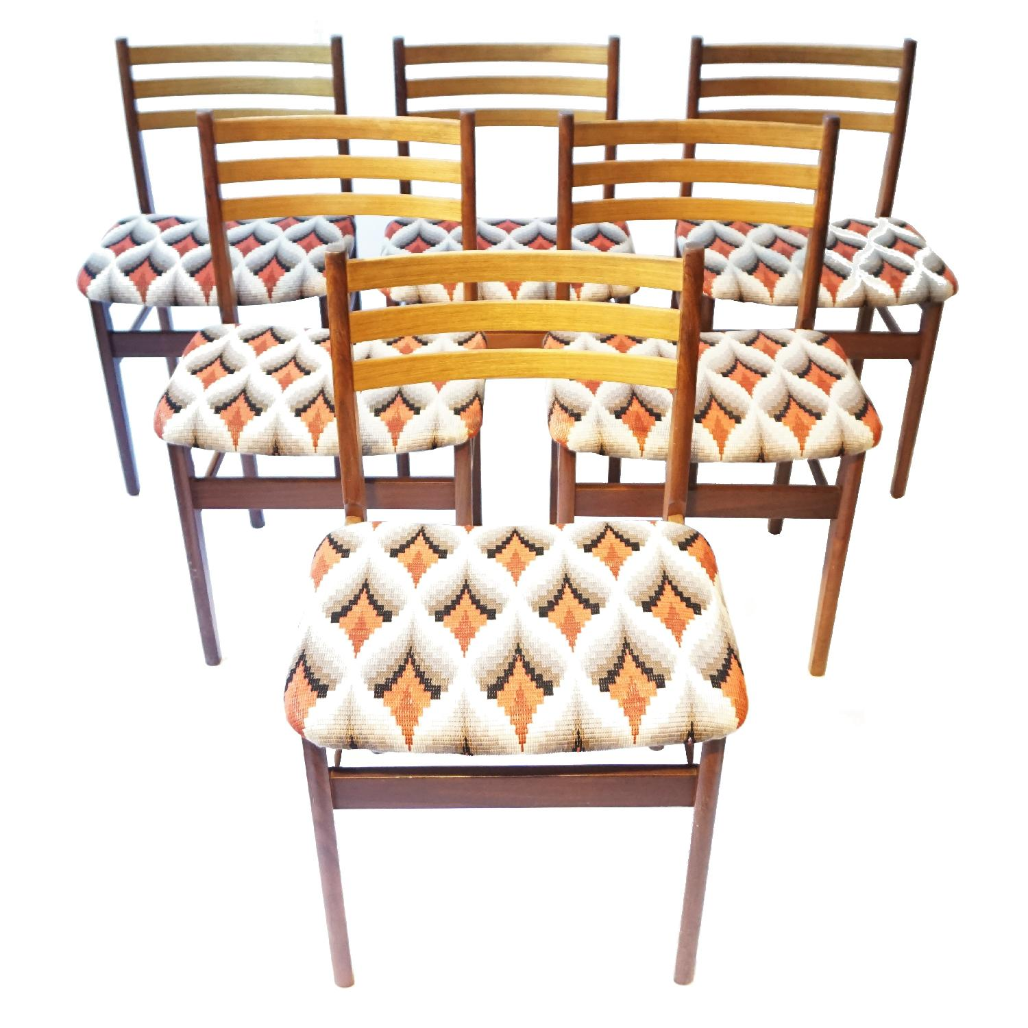 Vintage Danish Furniture Makers Chairs - image-0