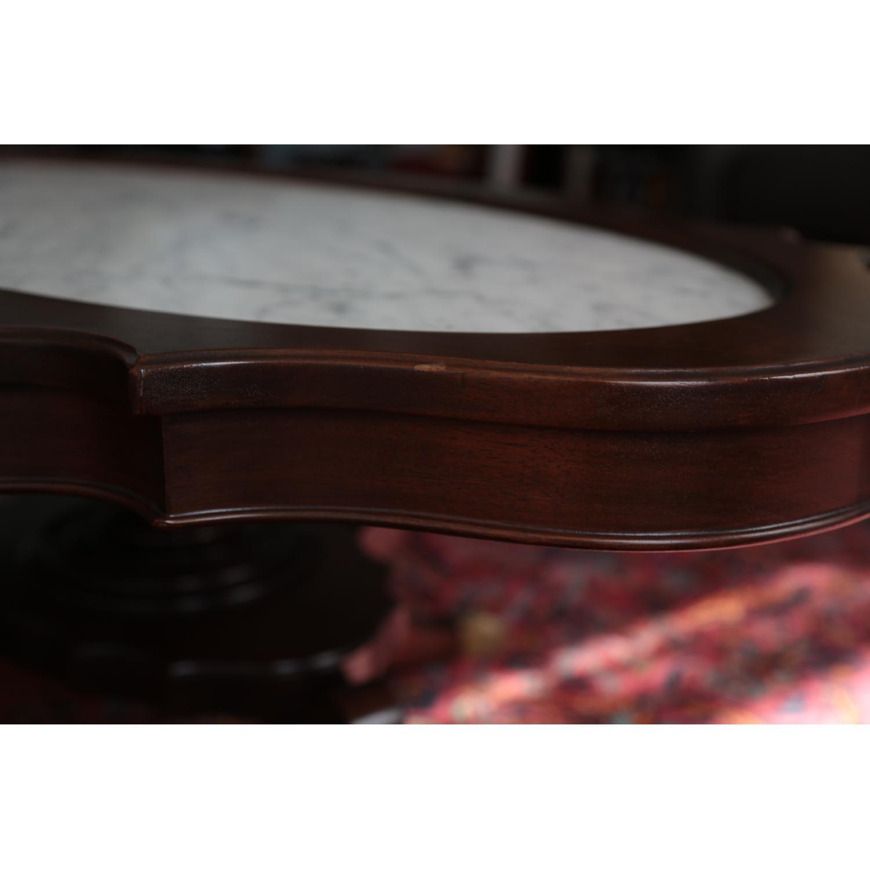 Vintage Coffee Table w/ Marble Top - image-4