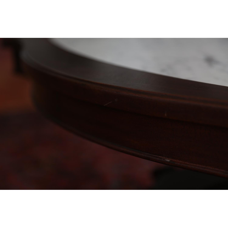Vintage Coffee Table w/ Marble Top - image-5