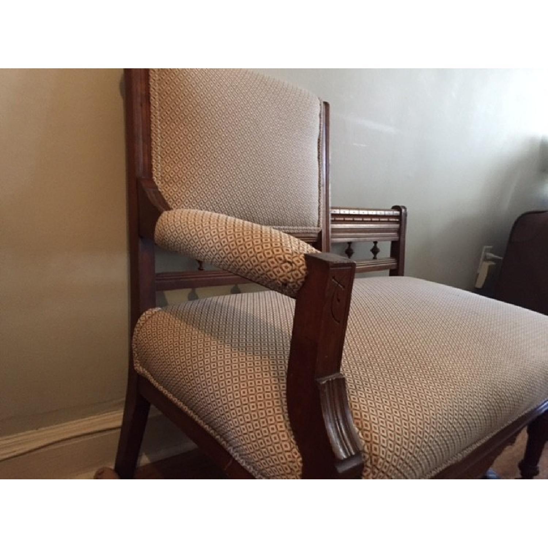 Antique Cherry Chair - image-2