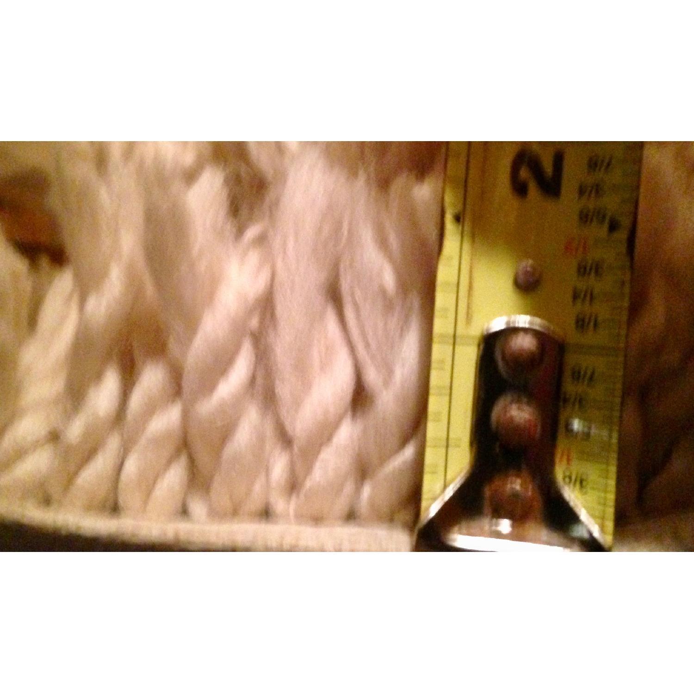 Thick Cream Shag Rug - image-2