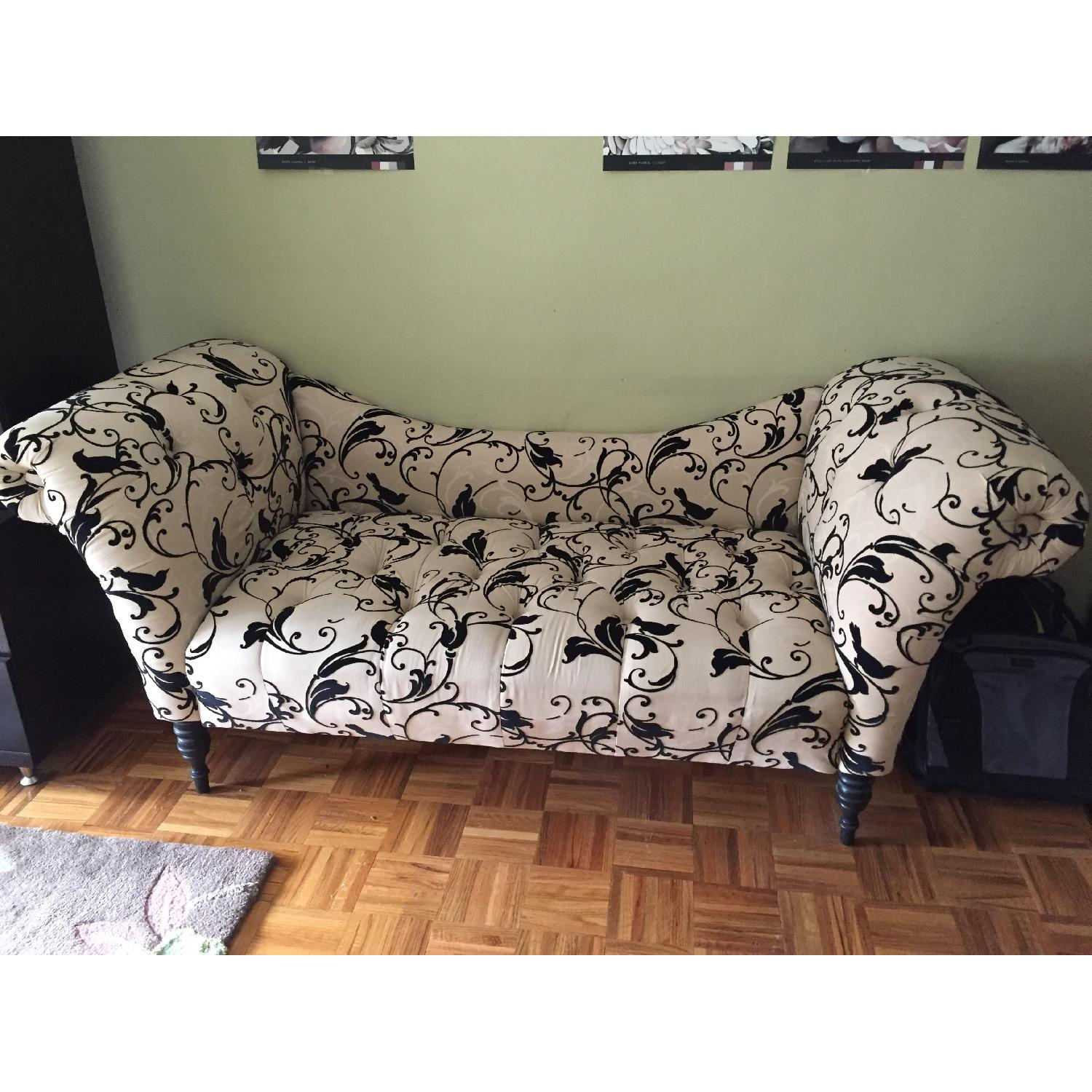 Urban Outfitters Printed Chaise Lounge in Black & Tan - image-2
